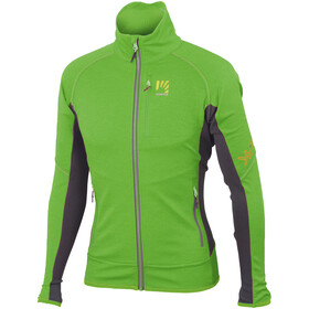 Karpos Pizzocco Fleece Herren apple green/dark grey